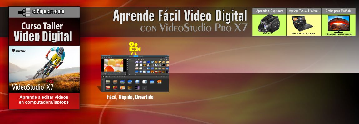Aprende Video Digital con VideoStudio X7