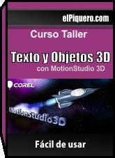 Aprende a Crear Textos y Objetos en 3D con MotionStudio 3D