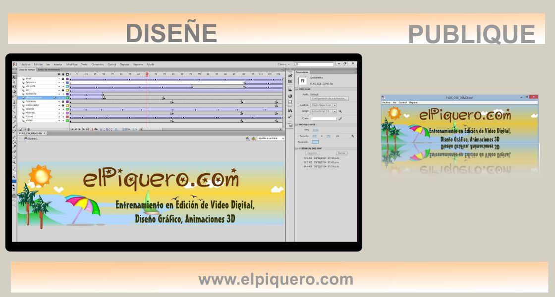 Aprende a Crear Animaciones con Adobe Flash CS6